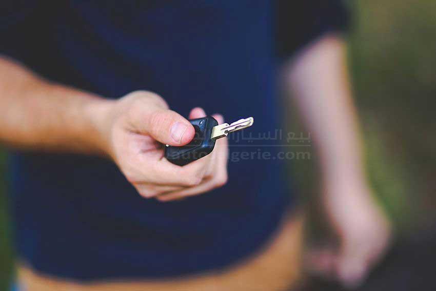 مفتاح السيارة